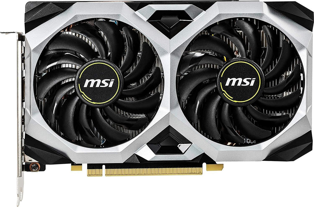 MSI Video Card GTX 1660 Ti VENTUS XS 6G OC 6GB DisplayPortx3/HDMI DUAL FAN Retail