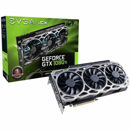 EVGA GeForce GTX 1080 Ti FTW3 ELITE GAMING WHITE, 11G-P4-6797-K1, 11GB GDDR5X, iCX Technology - 9 Thermal Sensors & RGB LED G/P/M - V&L Canada