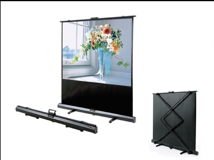 "Grandview 100""  X-Press Pull-Up Portable Projector Screen (CB-UX100)"