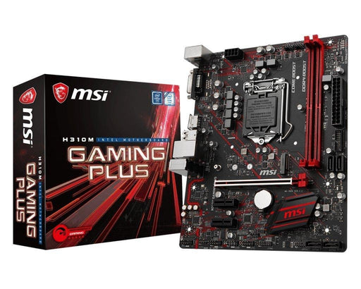 MSI MB H310M GAMING PLUS H310 S1151 32GB DDR4 D-SUB HDMI PCIE mATX Retail