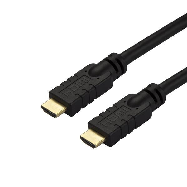 StarTech High Speed HDMI Cable - CL2-rated - Active - 4K 60Hz - 15 m (50 ft.) HD2MM15MA - V&L Canada