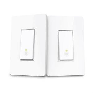 TP-Link Smart Wi-Fi Light Switches - 3-Way Kit, Built-In 2.4 GHz Wi-Fi, Away Mode, Programmable Scheduling, LED Indicator - HS210 KIT