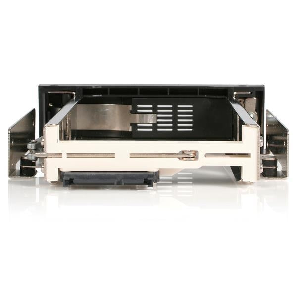 StarTech Removable Drive 5.25inch Trayless Hot Swap Mobile Rack for 3.5inch HDD (HSB100SATBK) - V&L Canada