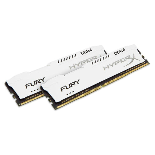 HyperX Fury White 32GB 2400MHz DDR4 CL15 DIMM Kit of 2 (HX424C15FWK2/32) - V&L Canada