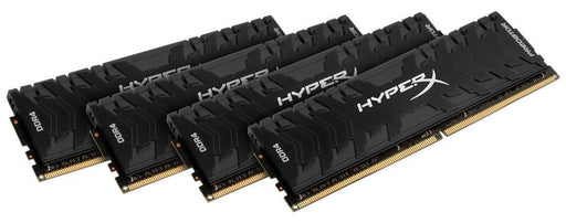 KINGSTON HX426C13PB3K4/32 HyperX Predator Black 32GB 2666MHz DDR4 CL13 DIMM Kit of 4 XMP