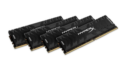 KINGSTON HX433C16PB3K4/32 HyperX Predator Black 32GB 3333MHz DDR4 CL16 DIMM Kit of 4 XMP