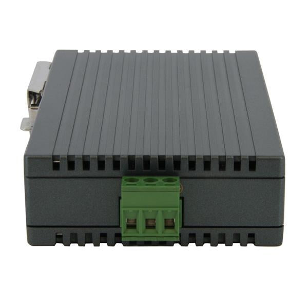 Startech Network Port Industrial Ethernet Switch DIN rail mountable Retail (IES5102) - V&L Canada