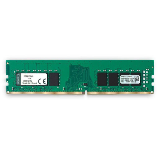 KINGSTON TECHNOLOGY 16GB 2400MHZ DDR4 NON-ECC CL17 DIMM 2RX8 (KVR24N17D8/16) - V&L Canada