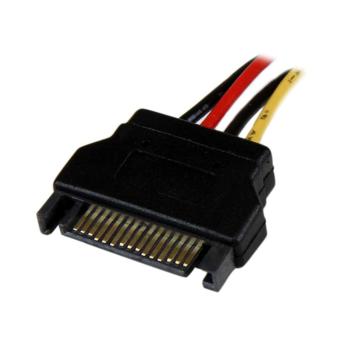 StarTech.com 12in SATA to Molex LP4 Power Cable Adapter - F/M (LP4SATAFM12)