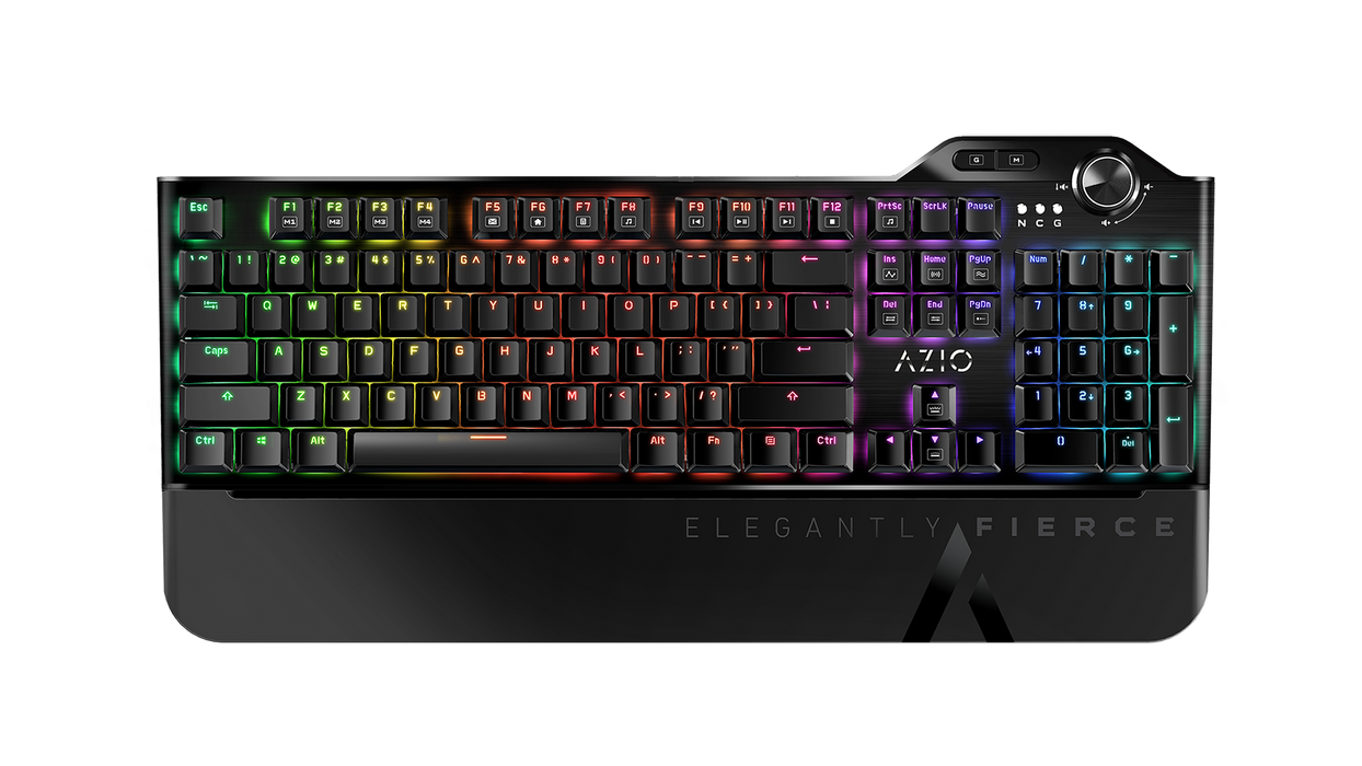 Azio Mgk L80 Mechanical Gaming Keyboard (Brown K-SWITCH/ RGB Backlight) MGK-L80-01 - V&L Canada