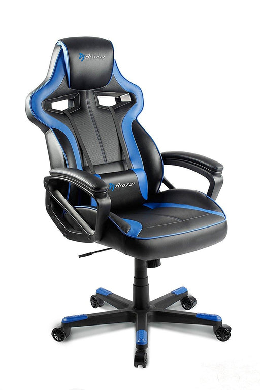 AROZZI Milano Enhanced Gaming Chair, Bluec (MILANO-BL) - V&L Canada