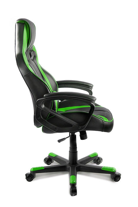 AROZZI Milano Enhanced Gaming Chair, Green (MILANO-GN) - V&L Canada