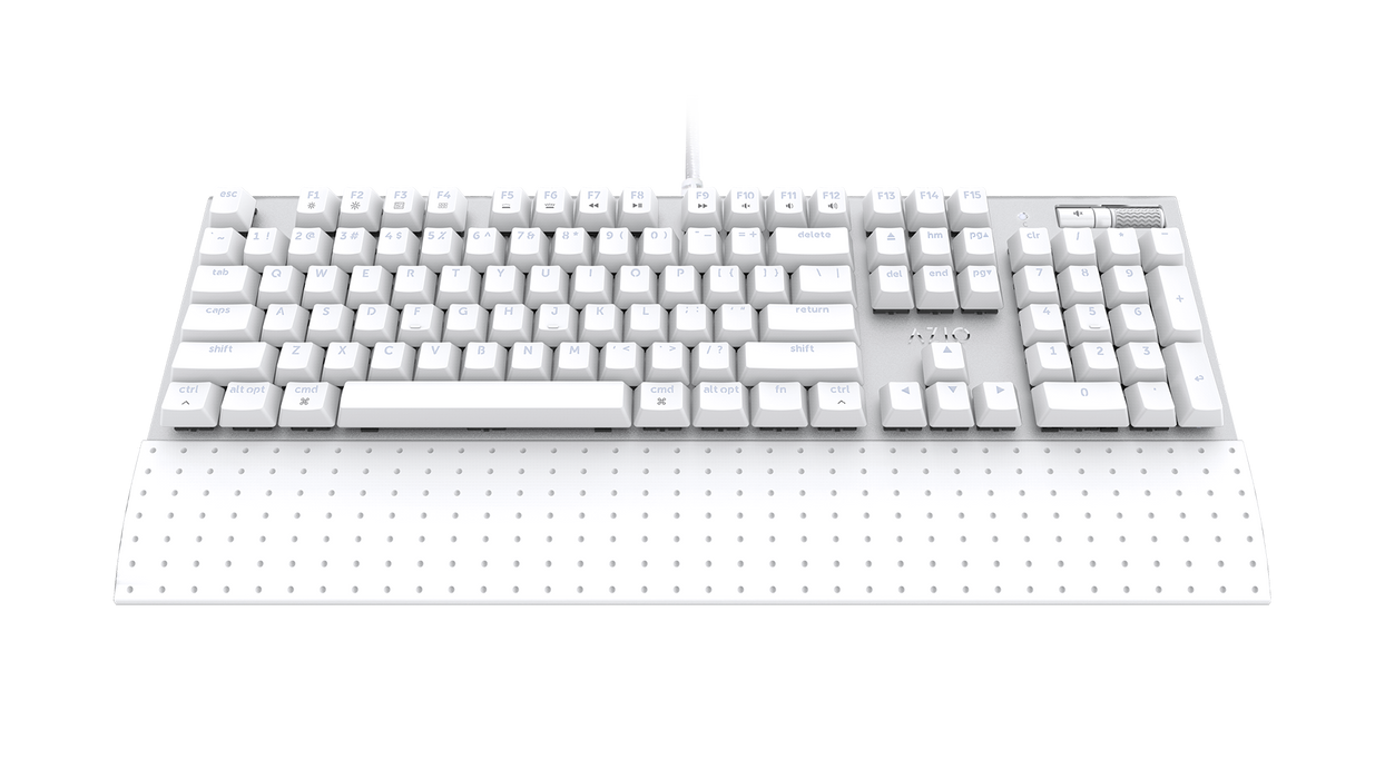 AZIO MK Mac Wired USB Backlit Mechanical Keyboard for Mac, Brown K-Switch (MK-MAC-U01) - V&L Canada