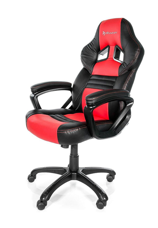 Arozzi Monza Series Gaming Racing Style Swivel Chair, Red/Black (MONZA-RD) - V&L Canada
