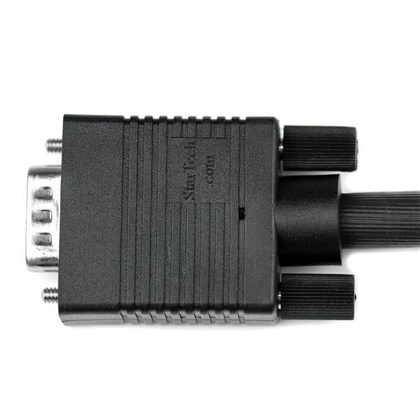 StarTech Cable  10ft Coaxial High Resolution VGA Monitor HD15 M/M Retail (MXT101MMHQ10) - V&L Canada