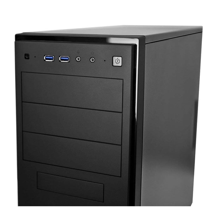 Antec Case NSK4100 New Solution Mid Tower 3/1/(6) Bays USB Audio Black ATX - V&L Canada