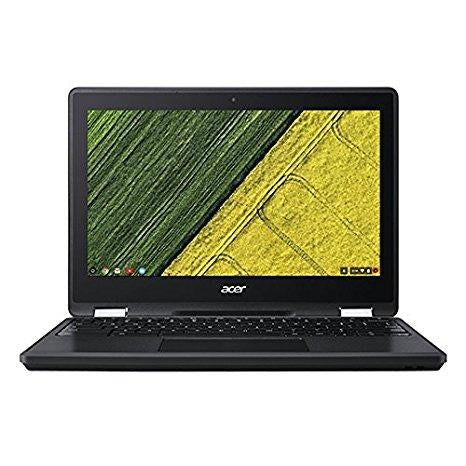 "Acer Chromebook R751TN-C5P3 1.10GHz N3350 11.6"" 1366 x 768pixels Touchscreen Black Chromebook (NX.GNJAA.002) - V&L Canada"