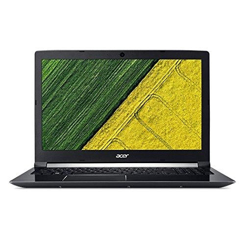 "Acer Aspire A715-71G-77HX 2.8GHz i7-7700HQ 15.6"" 1920 x 1080pixels Black Notebook (NX.GP9AA.002) - V&L Canada"