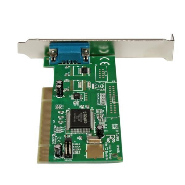 StarTech I/O Card 1PT PCI RS232 Serial Adapter Card w/16550 UART Retail (PCI1S550) - V&L Canada