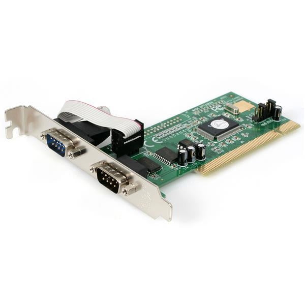StarTech I/O Card  2PT PCI RS232 Serial Adapter Card w/16550 UART Retail (PCI2S550) - V&L Canada