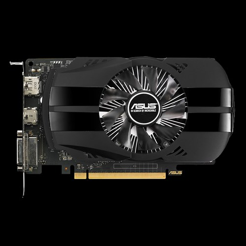 Asus Video card VCX PH-GTX1050TI-4G GTX 1050 Ti 4GB GDDR5 128 Bit PCI-E 3.0 HDMI/DVI-D/ Display Port Retail - V&L Canada