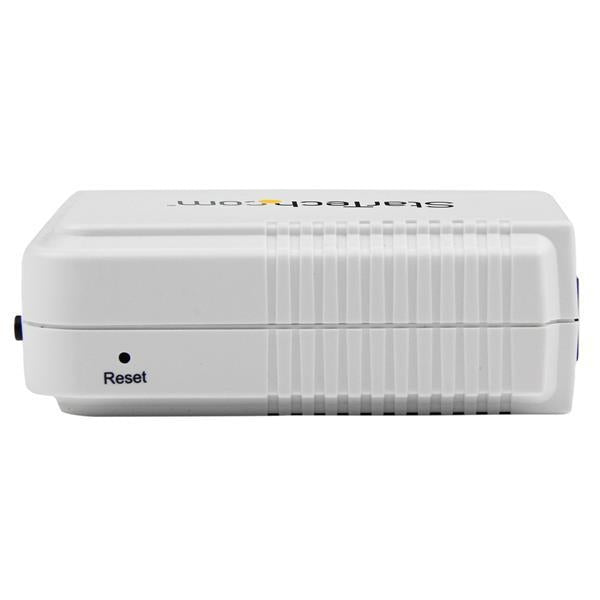 StarTech 1 Port USB Wireless N Network Print Server with 10/100 Mbps Ethernet Port - 802.11 b/g/n (PM1115UW) - V&L Canada
