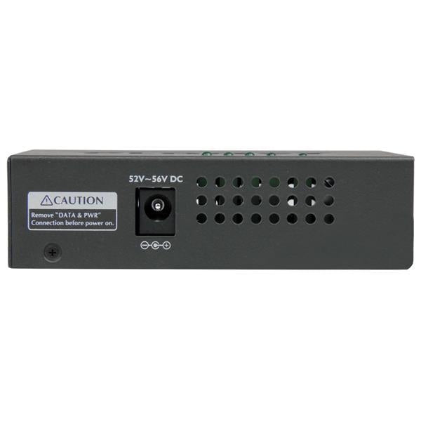 StarTech 4-Port Gigabit Midspan - PoE+ Injector - 802.3at/af (POEINJ4G) - V&L Canada
