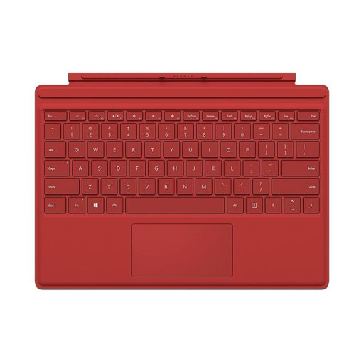 Microsoft Surface Pro 4 Type Cover (Red - English) QC7-00005