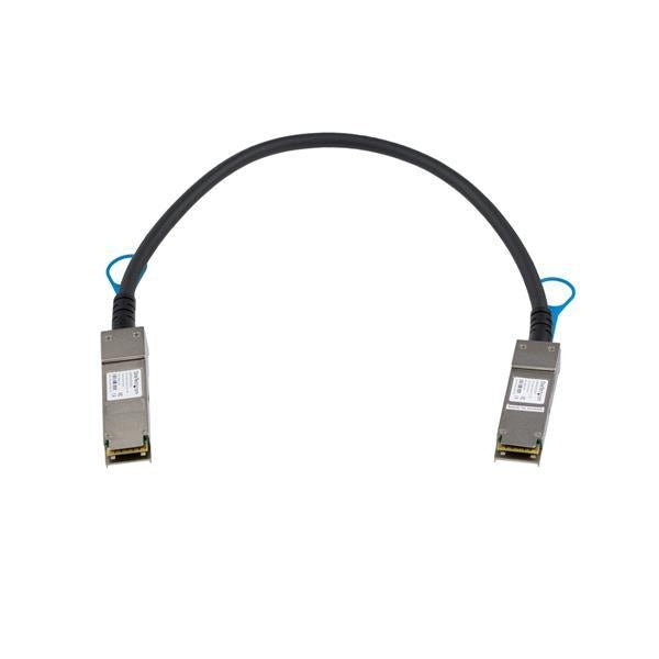 StarTech QSFP+ Direct Attach Cable - MSA Compliant - 0.5 m (1.6 ft.) (QSFP40GPC05M) - V&L Canada
