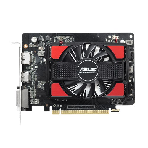 Asus Video Card R7250-1GD5-V2 R7 250 1GB DDR5 128Bit PCI Express 3.0 DVI-I/HDMI/HDCP Retail - V&L Canada