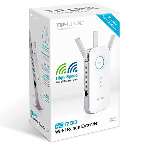 Recertified TP-Link Network RE450 AC1750 WiFi Range Extender 1750Mbps with 802.11ac/b/g/n Retail