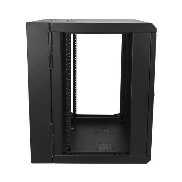 StarTech Accessory 12U 17inch Deep Hinged Enclosure Wall-Mount Server Rack Cabinet Retail (RK12WALHM) - V&L Canada