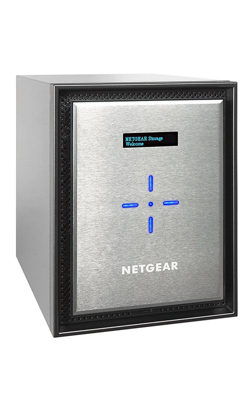 Netgear ReadyNAS 626X NAS Mini Tower Ethernet LAN Black,Silver (RN626X00-100NES) - V&L Canada