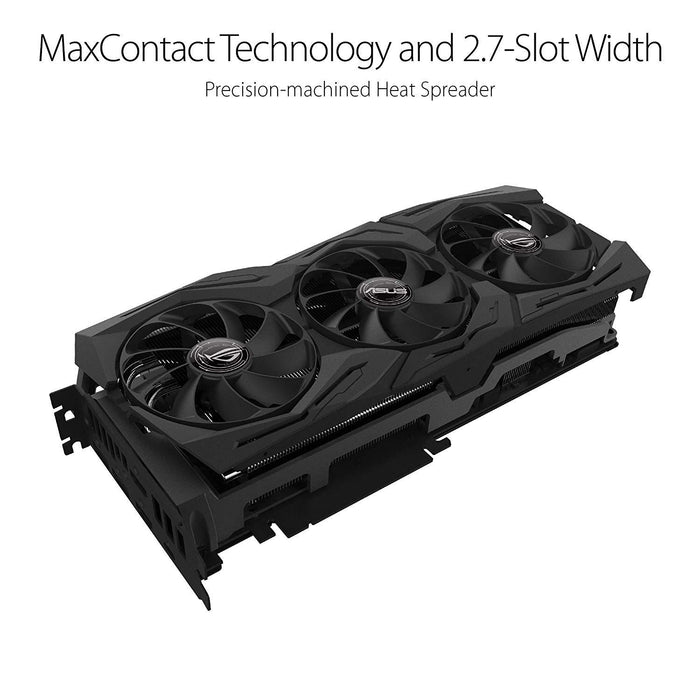 ASUS GeForce RTX 2070 Advanced A8G GDDR6 HDMI DP 1.4 USB Type-C Graphic Card (ROG-STRIX-RTX2070-A8G-GAMING)