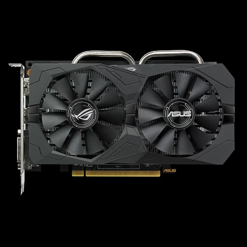 ASUS ROG-STRIX-RX560-O4G-EVO-GAMING Radeon RX 560 4GB GDDR5 Gaming OC Edition DP HDMI DVI AMD Graphics Card