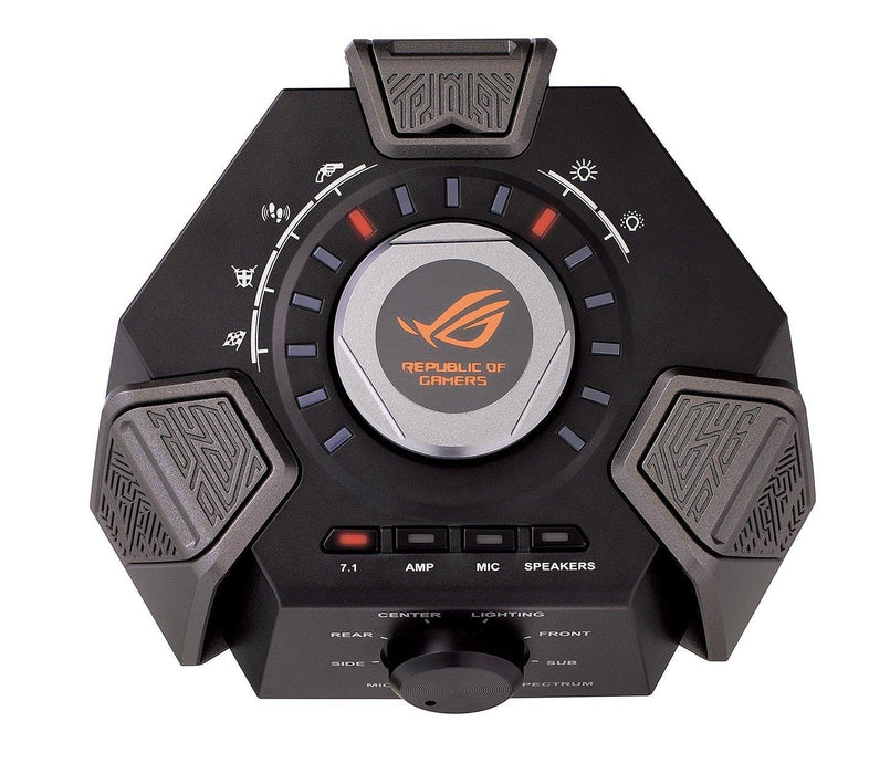 Asus Headphone Speakers ROG Centurion true 7.1 gaming headset  digital microphone Hi-Fi-grade headphone amplifier and USB audio station Retail - V&L Canada