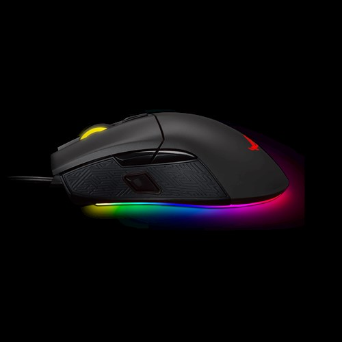 ASUS ROG Gladius II Aura Sync USB Wired Optical Ergonomic Gaming Mouse with DPI