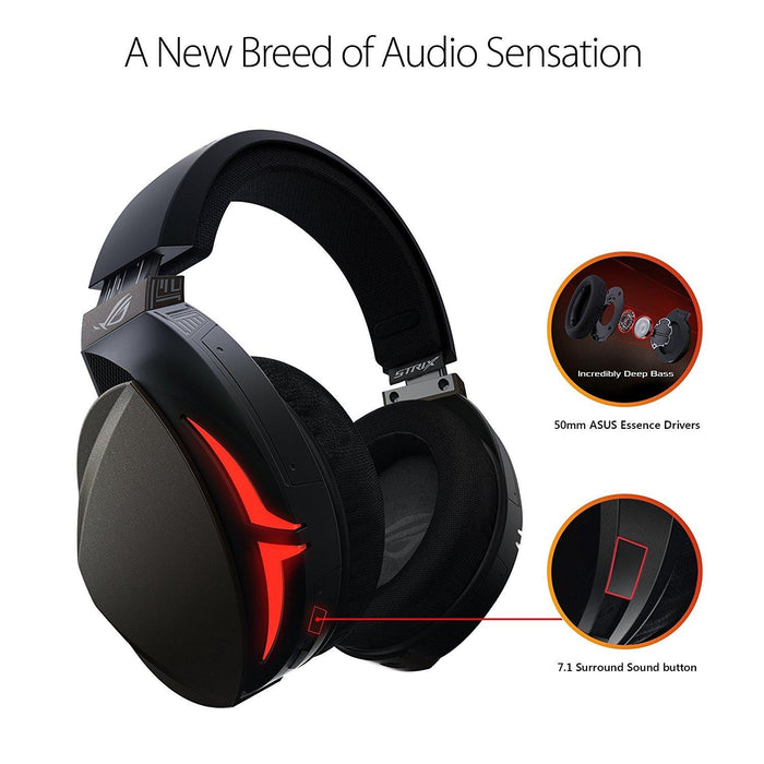 Asus Headphone ROG Strix Fusion 300 7.1 gaming headset 50 mm Neodymium magnet USB Retail - V&L Canada