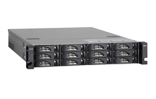 NETGEAR ReadyNAS 4312X Network Attached Storage 2X 10Gbase-T 2U Rackmount 12 Bay Diskless, Black (RR4312X0-10000S) - V&L Canada