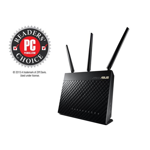 ASUS RT-AC68U Dual-band (2.4 GHz / 5 GHz) Gigabit Ethernet 3G 4G wireless router - V&L Canada