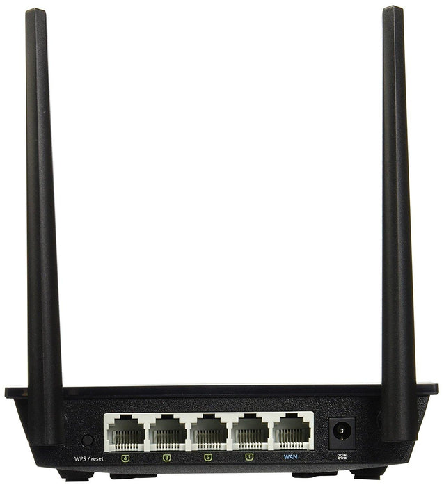 ASUS RT-N300 B1 Single-band (2.4 GHz) Fast Ethernet Black wireless router - V&L Canada