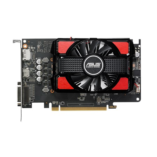 Asus Video Card RX550-2G Radeon 2GB GDDR5 DisplayPort HDMI DVI AMD Retail - V&L Canada