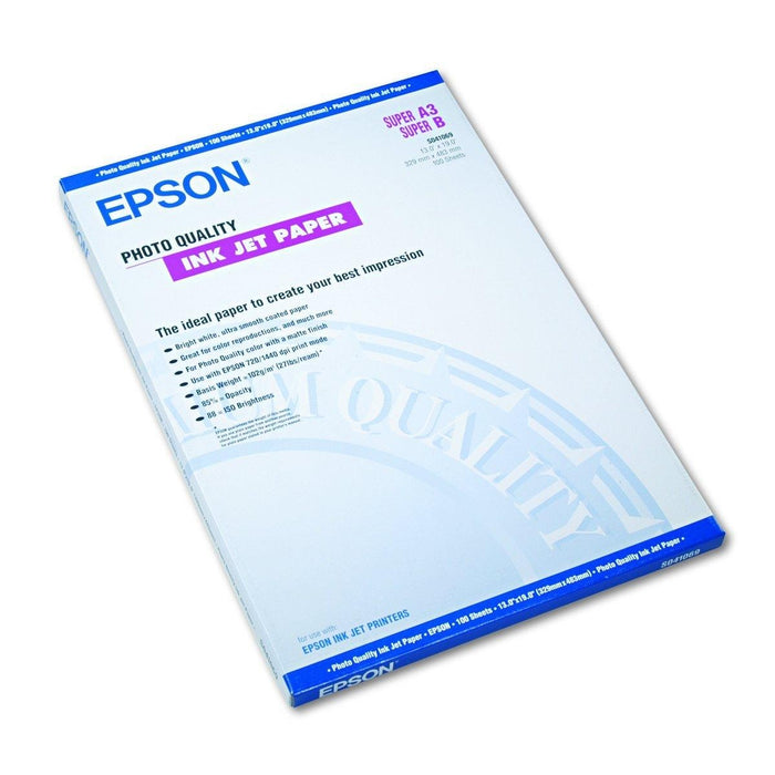 Epson A3+ Photo Quality Ink Jet Paper inkjet paper (S041069-L)