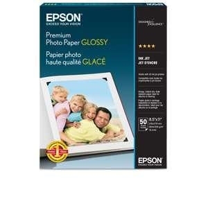 Epson Premium Glossy photo paper - Letter A Size (8.5 in x 11 in) (S041667)