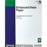 Epson Enhanced Matte - Paper - matte paper - bright white - 17 in x 22 in - 192 (S041908)