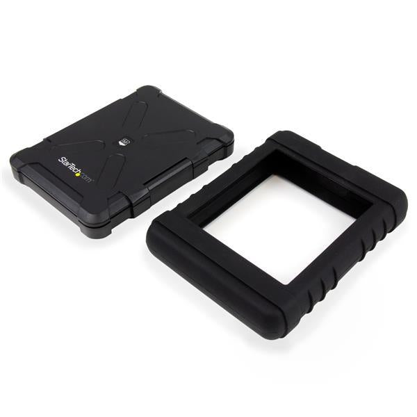 StarTech Rugged Hard Drive Enclosure - USB 3.0 to 2.5in SATA 6Gbps HDD or SSD - UASP (S251BRU33) - V&L Canada