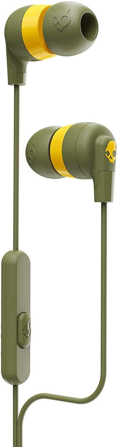 Skullcandy Ink'd+ Headset In-ear Olive,Yellow (S2IMY-M687)