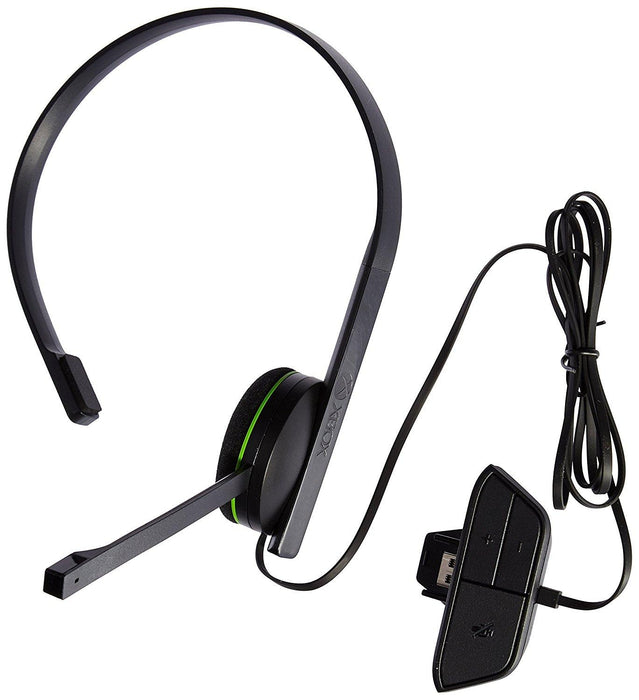 Microsoft Xbox One Chat Headset Monaural Head-band Black headset S5V-00007 - V&L Canada