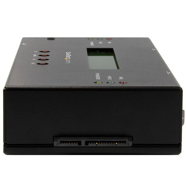 "StarTech 1:1 Standalone Hard Drive Duplicator and Eraser for 2.5"" / 3.5"" SATA and SAS Drives (SATSASDUPE11) - V&L Canada"