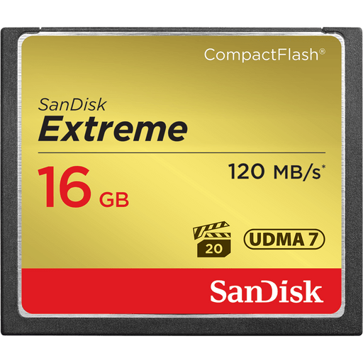 Sandisk 16 Gb 16GB CompactFlash memory card (SDCFXS-016G-X46)